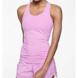 NWT Athleta Shanti Tank  Powervita Violet Blush XS